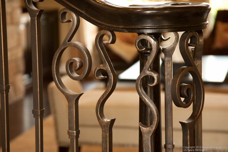 endecor iron stair baluster idea photo gallery ironwood conn