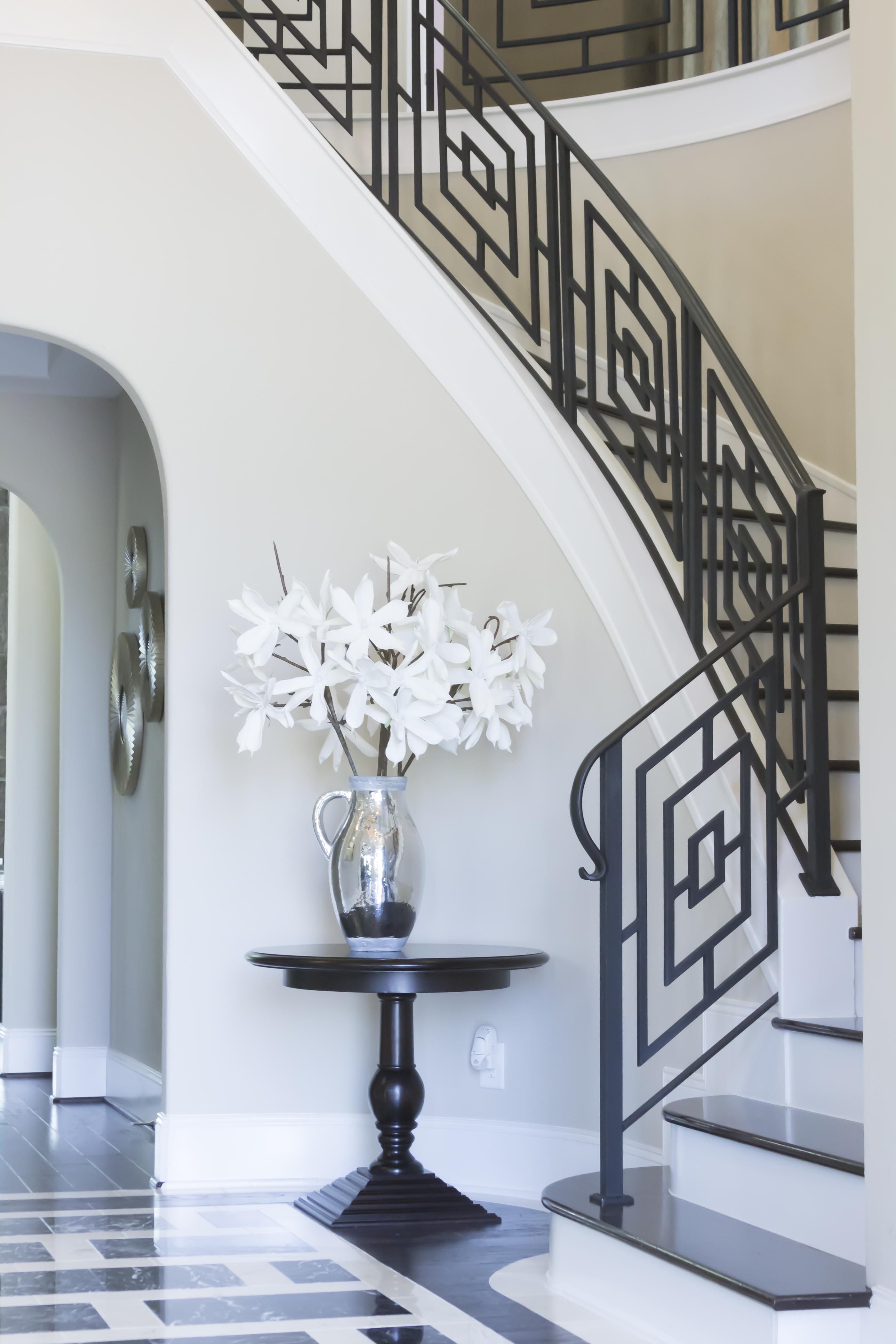 Custom Iron Staircase & Railing Idea Gallery