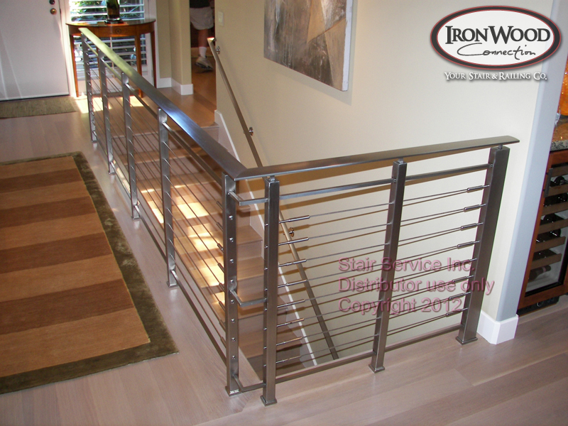 Glass U0026 Cable Staircase