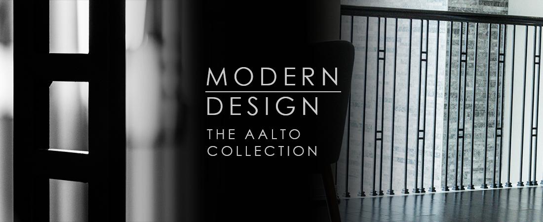 Aalto Modern Iron Balusters