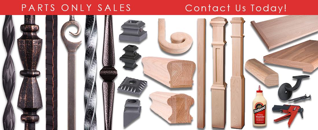 Stair Parts Retail Sales