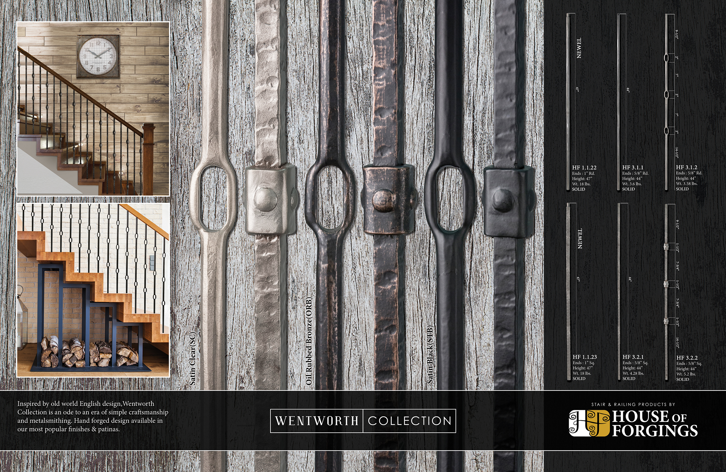 Introducing Wentworth Collection