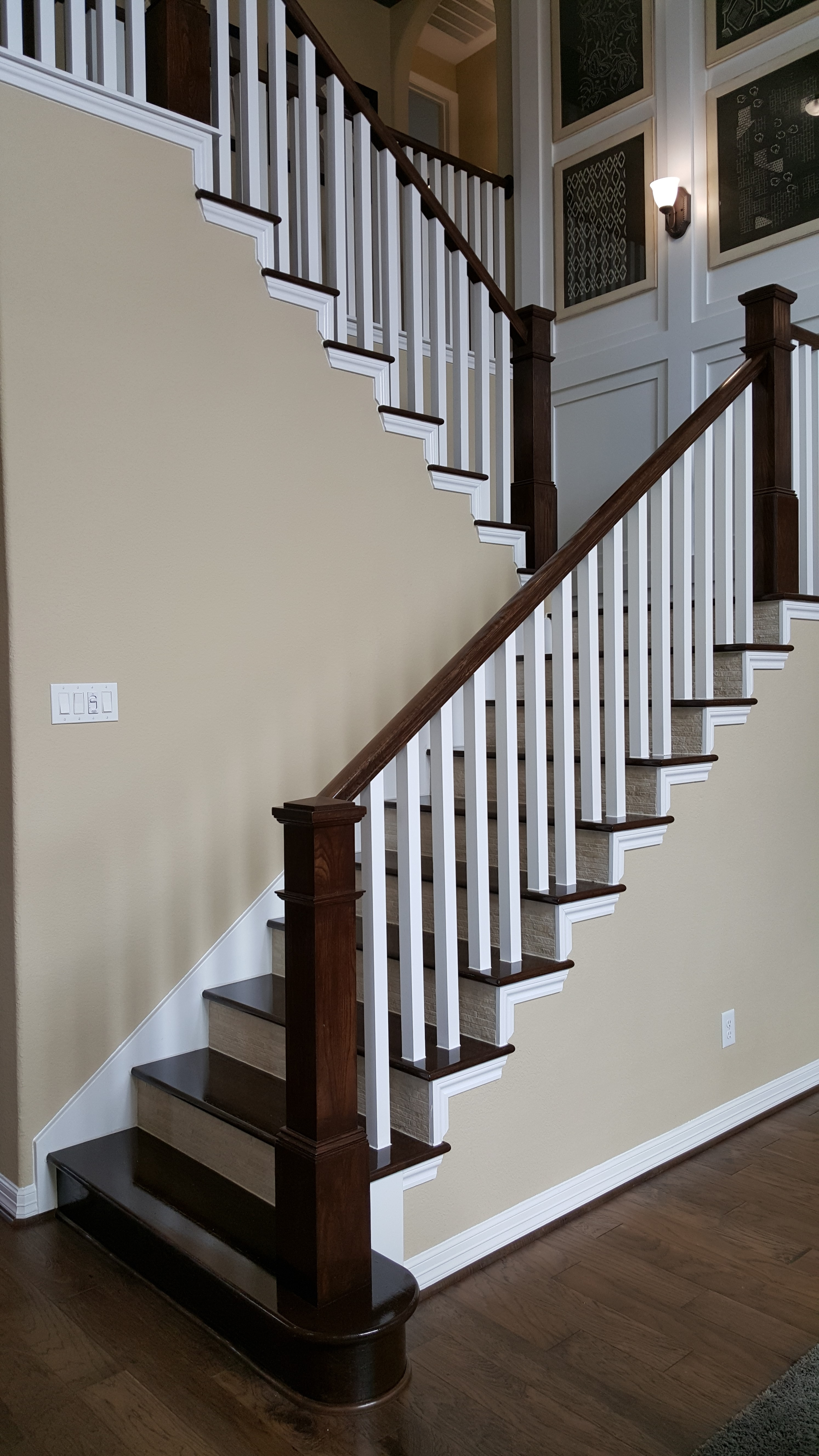 Wood Staircase Ironwood Connection Stair Amp Railing