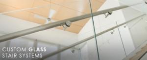 Custom Glass Stairs