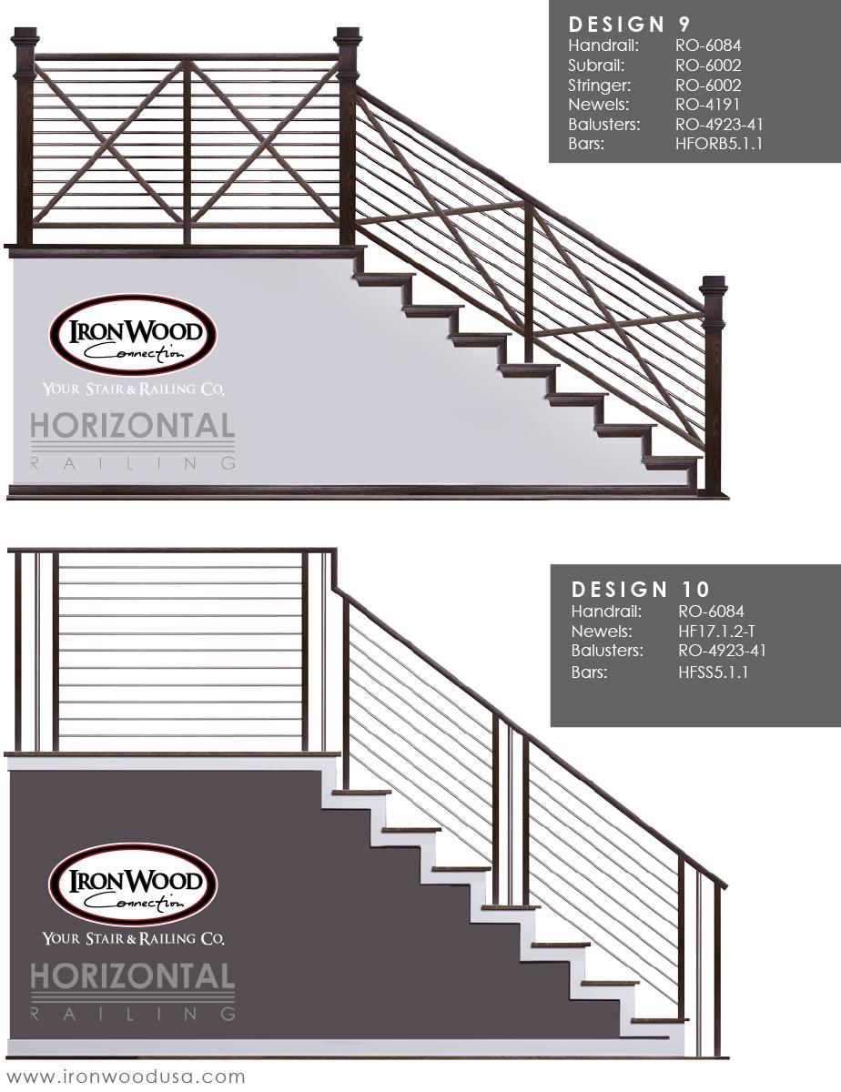 Affordable Horizontal Railing Now Available! | Ironwood ...